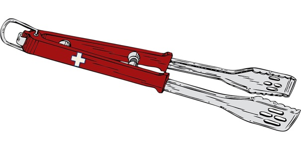 Barbecue tongs